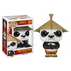 Funko Pop! Movies 252: Kung Fu Panda - Po With Hat