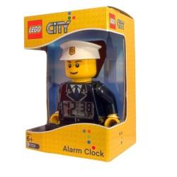 LEGO City 9002274 Policemen Minifigure Digital Alarm Clock