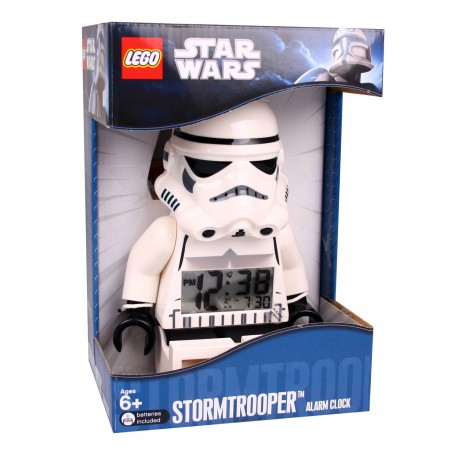 LEGO Star Wars 9002137 Stormtrooper Minifigure Digital Alarm Clock