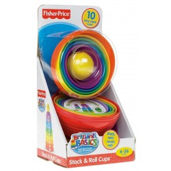Fisher-Price Infant Stack & Roll Cups