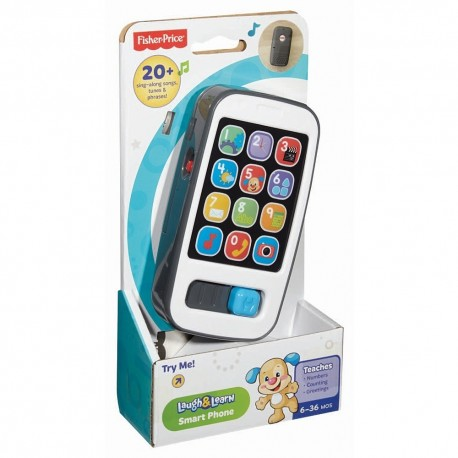 Fisher Price Infant Smart Phone (6-36 Months)