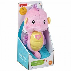 Fisher Price Infant Soothe and Glow Seahorse - Pink (0+ Months)