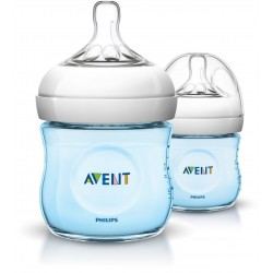 Philips AVENT Blue Twin Pack Natural Bottle (125ml)