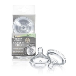 Tommee Tippee Closer To Nature 2X Teat Slow Flow