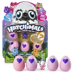 Hatchimals ColleGGtibles S2 4 Pack + Bonus Asst