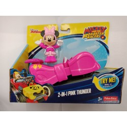 Fisher Price Disney Mickey and The Roadster Racers - 2-in-1 Pink Thunder