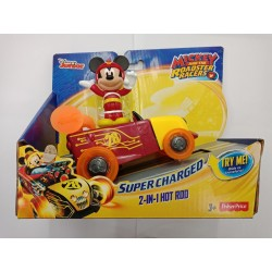 Fisher-Price Disney Mickey and The Roadster Racers - 2-in-1 Hot Rod