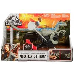 "Jurassic World Rip-Run Dinos Velociraptor ""Blue"""
