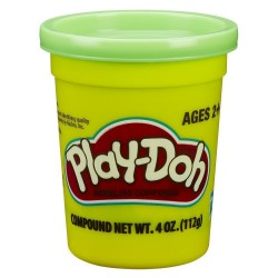 Play Doh Single Can - Green
