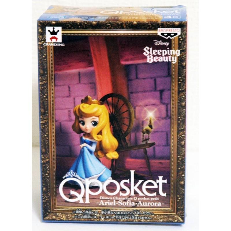 Banpresto Q Posket Petit Disney Characters: Aurora in Blue Dress