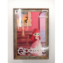 Banpresto Q Posket Petit Disney Characters: Ariel in Pink Dress