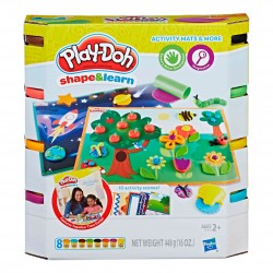 Play Doh Shape & Learn Activity Mats n More