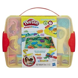 Play-Doh Shape & Learn Discover and Store - Explore Animals and Transportation