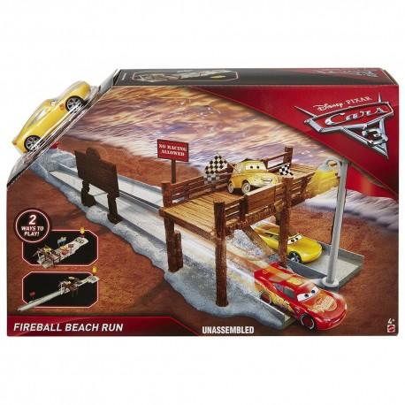 Disney Pixar Cars 3 Fireball Beach Run Playset