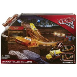Disney Pixar Cars 3 Thunder Hollow Challenge Playset