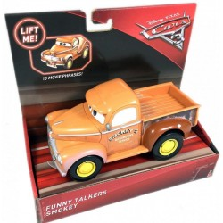 Disney Pixar Cars 3 Funny Talkers Smokey Vehicle