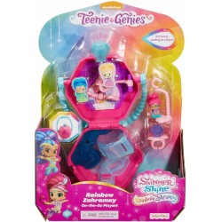 Shimmer and Shine Teenie Genies Rainbow Zahramay On-The-Go Playset