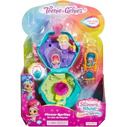 Shimmer and Shine Teenie Genies Flower Sprites On-The-Go Playset