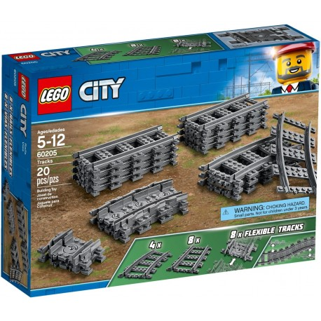 LEGO City 60205 Tracks and Curves
