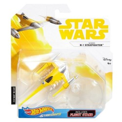 Hot Wheels Star Wars Naboo Starfighter Vehicle
