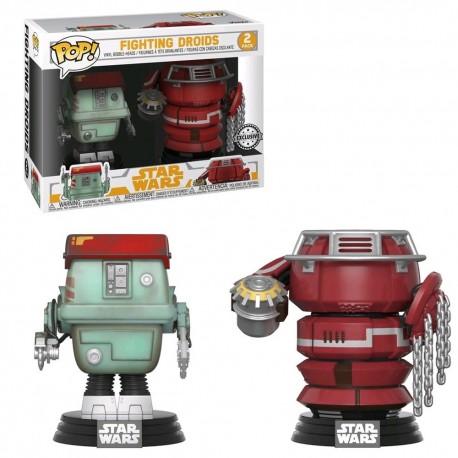 Funko Pop! Star Wars: Solo - Fighting Droids - 2Pk (Exclusive)