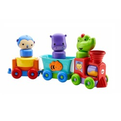 Fisher Price Silly Safari Rattle & Roll Animal Train (6+ months)