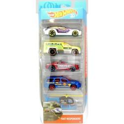 Hot Wheels Fast Responders 5 Pack