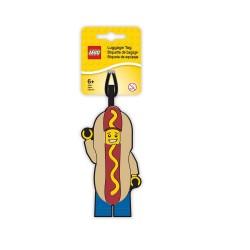 LEGO Iconic Hot Dog Luggage Tag