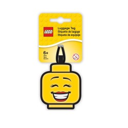 LEGO Iconic Girl Face Luggage Tag