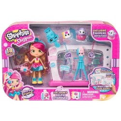 Shopkins Shoppies World Vacation Zoe Zoom's Selfie Stopover Playset