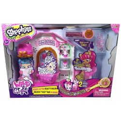 Shopkins Wild Style Kennel Cutie Beauty Parlor Playset