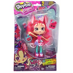Shopkins Shoppies Wild Style Valentina Hearts Doll