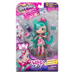 Shopkins Shoppies Wild Style Peppa-Mint Doll