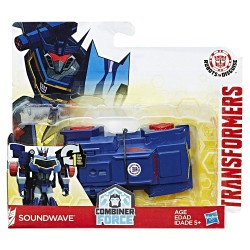 Transformers Robots in Disguise Combiner Force 1-Step Changer Soundwave