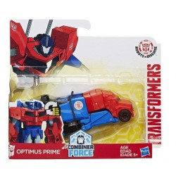 Transformers Robots in Disguise Combiner Force 1-Step Changer Optimus Prime