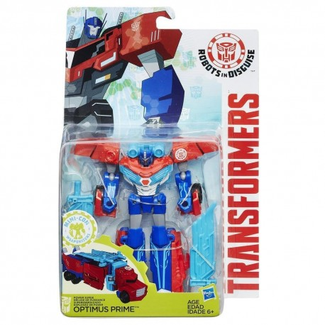 Transformers Robots in Disguise Combiner Force Warriors Class Power Surge Optimus Prime