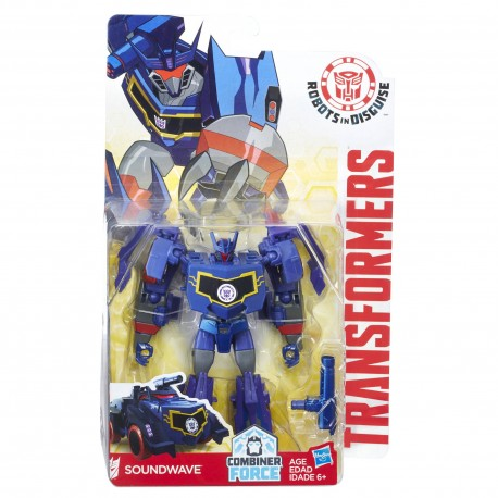 Transformers Robots in Disguise Combiner Force Warriors Class Soundwave