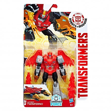 Transformers Robots in Disguise Combiner Force Warriors Class Autobot Twinferno