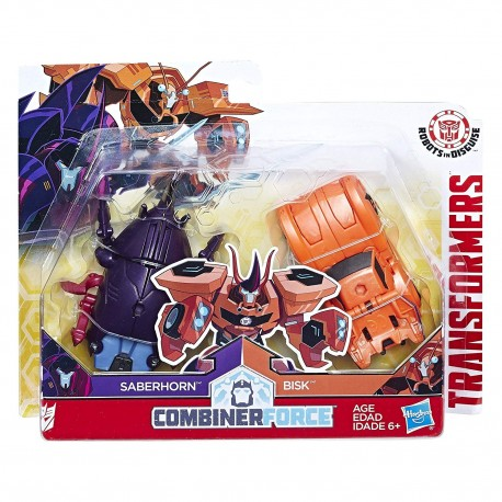 Transformers Robots in Disguise Combiner Crash Combiner Saberclaw
