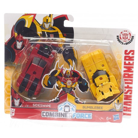 Transformers Robots in Disguise Combiner Crash Combiner Beeside