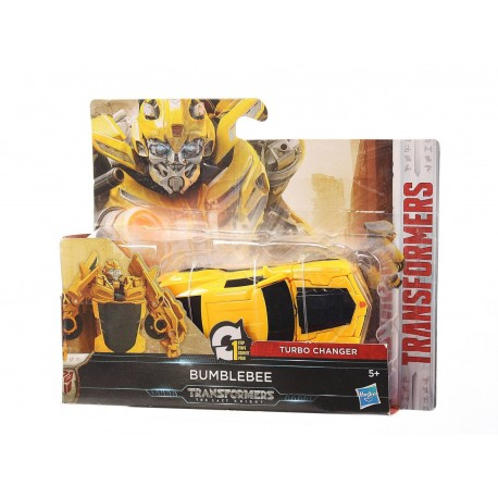 Transformers The Last Knight 1-Step Turbo Changer Bumblebee