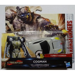 Transformers The Last Knight 1-Step Turbo Changer Cyberfire Cogman