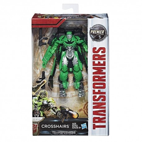 Transformers The Last Knight Premier Edition Deluxe Crosshairs