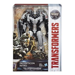 Transformers The Last Knight Premier Edition Voyager Decepticon Nitro