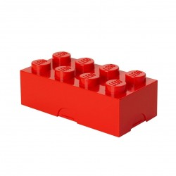 LEGO Lunch Box 8 Knobs - Red