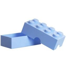 LEGO Lunch Box 8 Knobs - Light Royal Blue