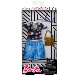 Barbie Complete Looks Fashion Dolls,Multicolor Outfit