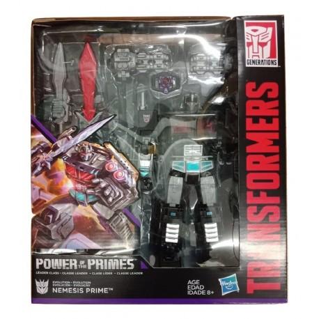 Transformers Generations Power Of The Primes Leader Evolution Nemesis Prime