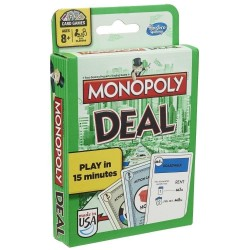 Monopoly Deal Card Game - Green Pack
