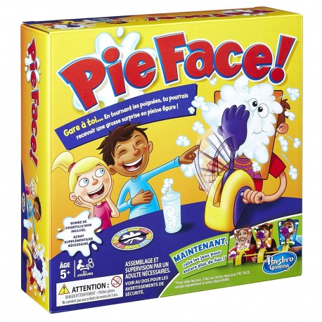 Pie Face Reaction Game